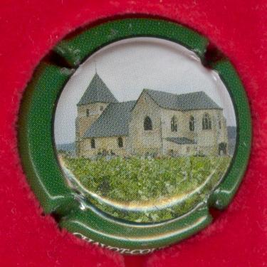Capsule de champagne CONART-RIOBLANC 7. rouge et or